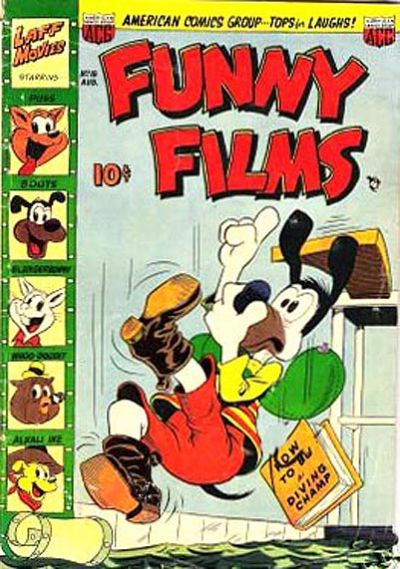 Cover for Funny Films (American Comics Group, 1949 series) #18