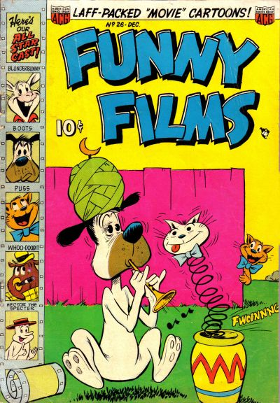 Cover for Funny Films (American Comics Group, 1949 series) #26