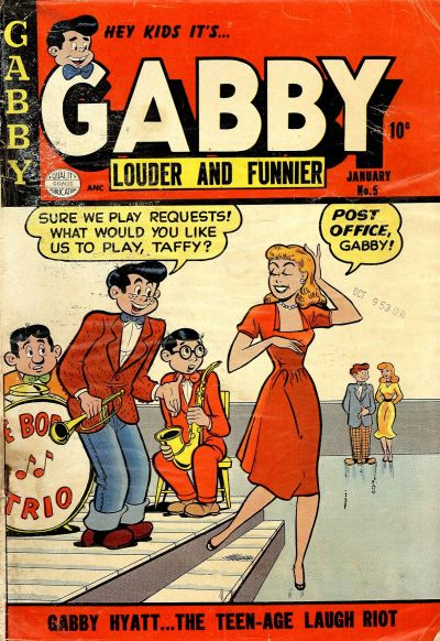 Cover for Gabby (Quality Comics, 1953 series) #5
