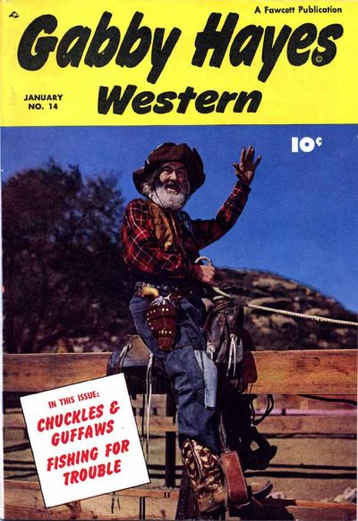 Cover for Gabby Hayes Western (Fawcett, 1948 series) #14