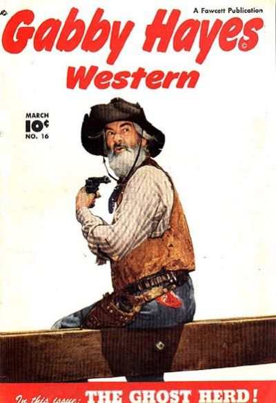 Cover for Gabby Hayes Western (Fawcett, 1948 series) #16