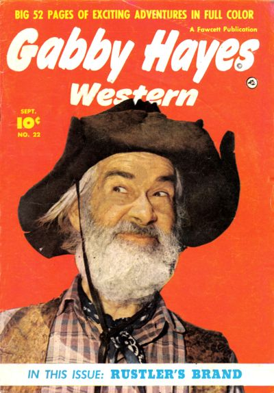 Cover for Gabby Hayes Western (Fawcett, 1948 series) #22