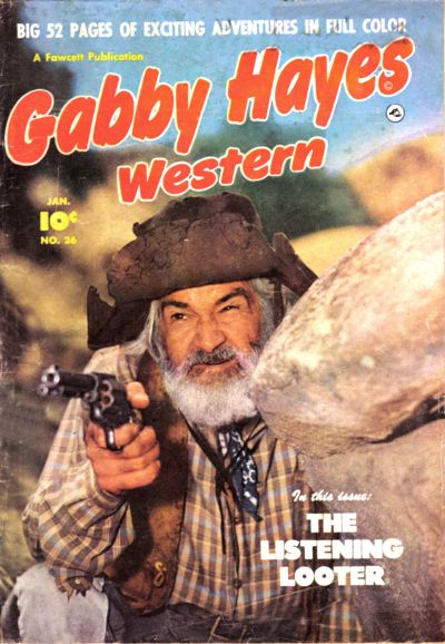 Cover for Gabby Hayes Western (Fawcett, 1948 series) #26