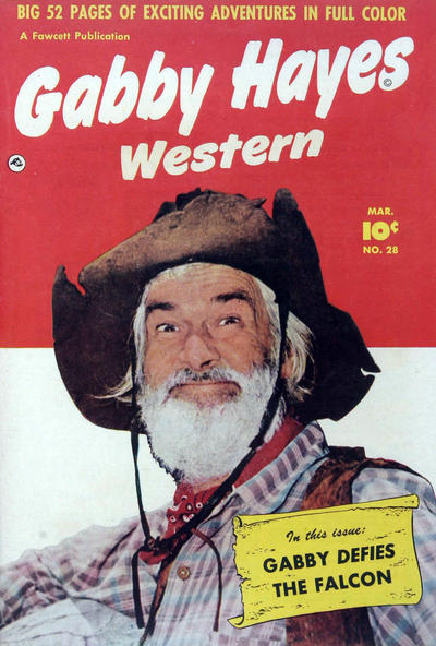 Cover for Gabby Hayes Western (Fawcett, 1948 series) #28