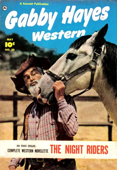 Cover for Gabby Hayes Western (Fawcett, 1948 series) #30