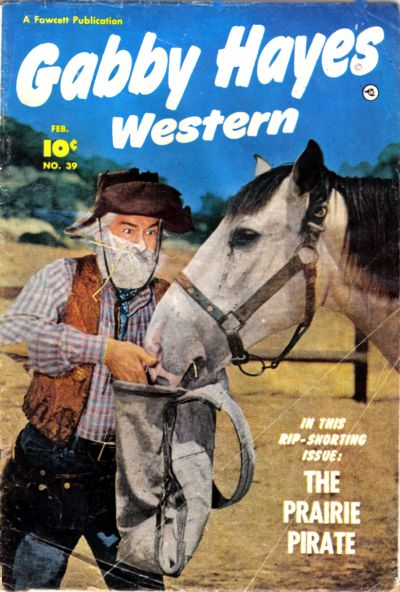 Cover for Gabby Hayes Western (Fawcett, 1948 series) #39