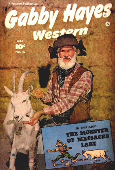 Cover for Gabby Hayes Western (Fawcett, 1948 series) #42