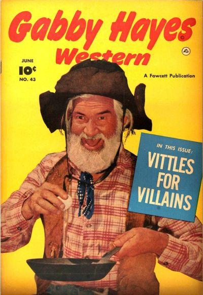 Cover for Gabby Hayes Western (Fawcett, 1948 series) #43