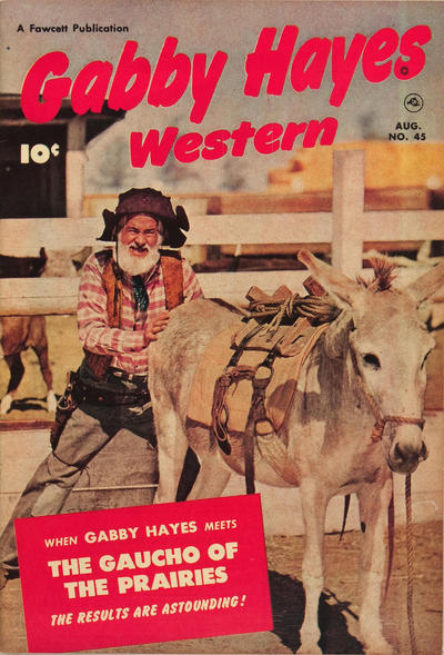 Cover for Gabby Hayes Western (Fawcett, 1948 series) #45