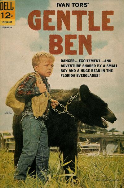 Cover for Gentle Ben (Dell, 1968 series) #1