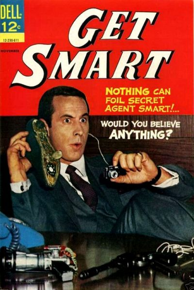 Cover for Get Smart (Dell, 1966 series) #3