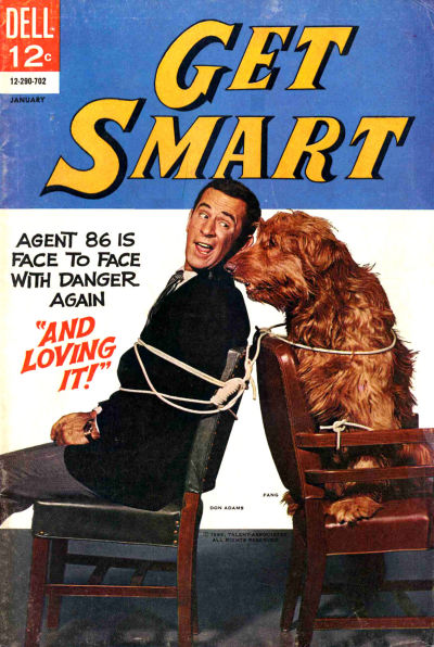Cover for Get Smart (Dell, 1966 series) #4