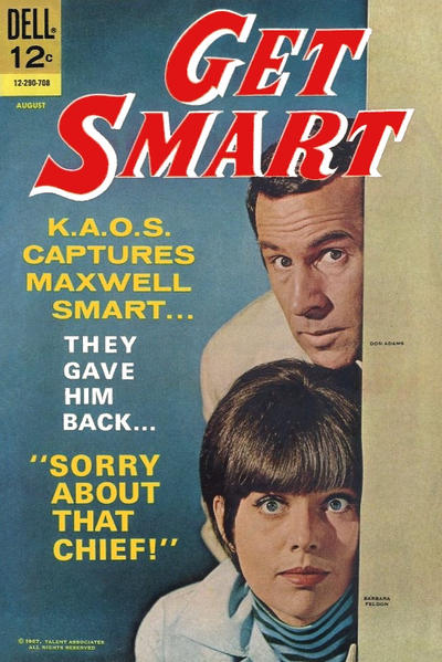 Cover for Get Smart (Dell, 1966 series) #7