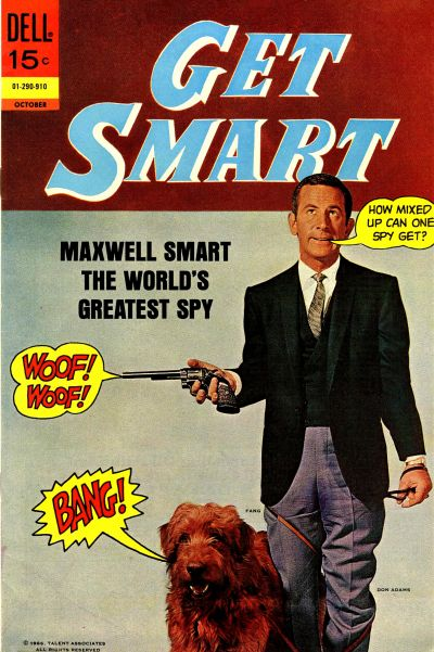 Cover for Get Smart (Dell, 1966 series) #8