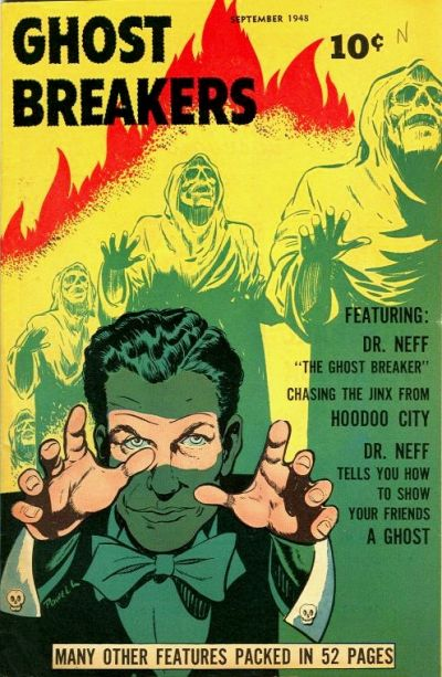 Cover for Ghost Breakers (Street and Smith, 1948 series) #1