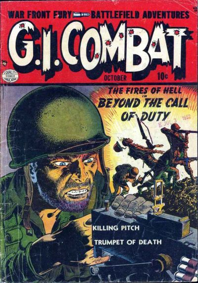 Cover for G.I. Combat (Quality Comics, 1952 series) #1