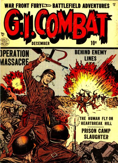 Cover for G.I. Combat (Quality Comics, 1952 series) #2