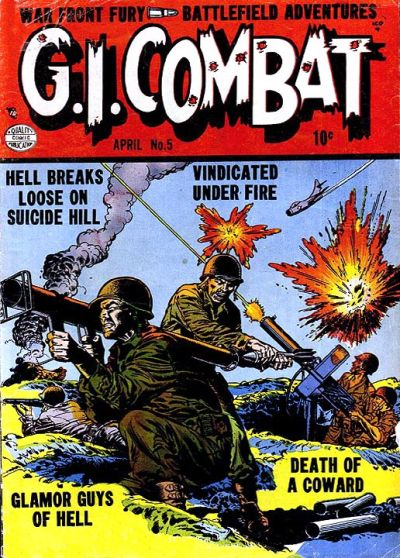 Cover for G.I. Combat (Quality Comics, 1952 series) #5