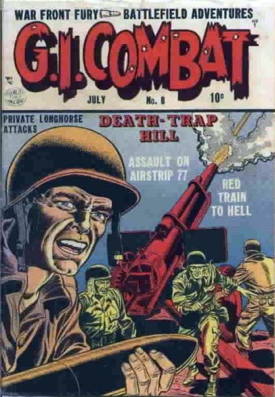 Cover for G.I. Combat (Quality Comics, 1952 series) #8