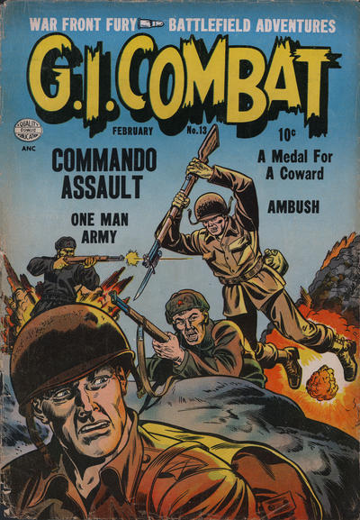 Cover for G.I. Combat (Quality Comics, 1952 series) #13