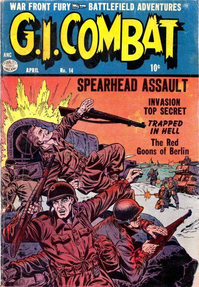 Cover for G.I. Combat (Quality Comics, 1952 series) #14