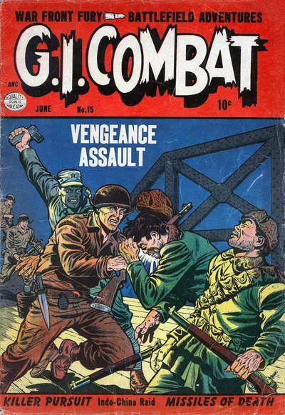 Cover for G.I. Combat (Quality Comics, 1952 series) #15