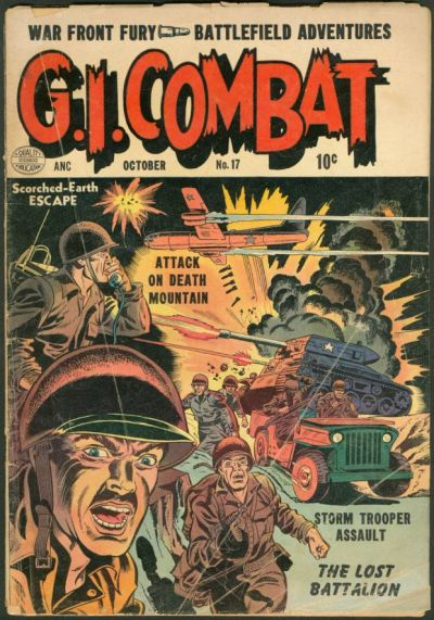 Cover for G.I. Combat (Quality Comics, 1952 series) #17