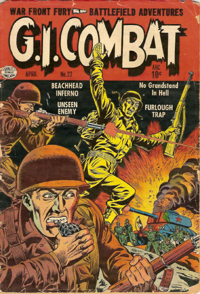 Cover for G.I. Combat (Quality Comics, 1952 series) #23