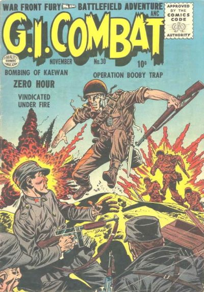 Cover for G.I. Combat (Quality Comics, 1952 series) #30