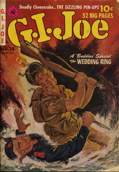 Cover for G.I. Joe (Ziff-Davis, 1951 series) #14