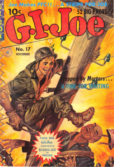 Cover for G.I. Joe (Ziff-Davis, 1951 series) #17