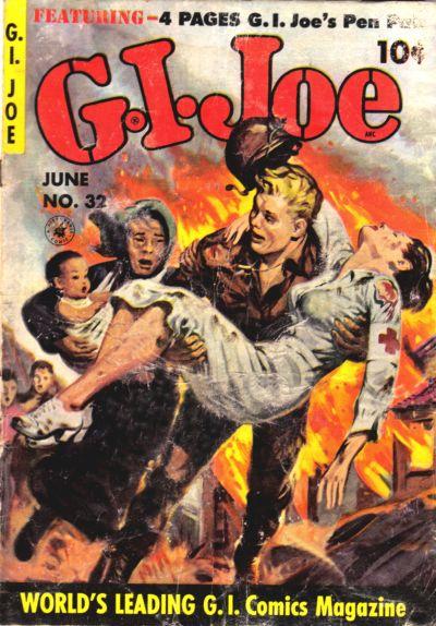 Cover for G.I. Joe (Ziff-Davis, 1951 series) #32