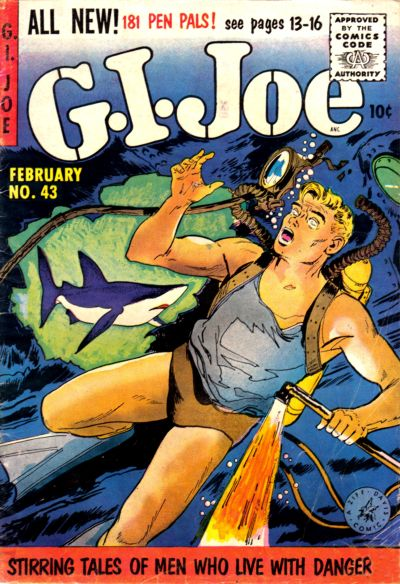 Cover for G.I. Joe (Ziff-Davis, 1951 series) #43