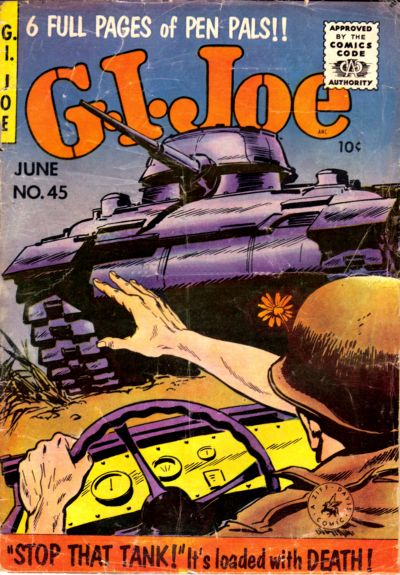 Cover for G.I. Joe (Ziff-Davis, 1951 series) #45