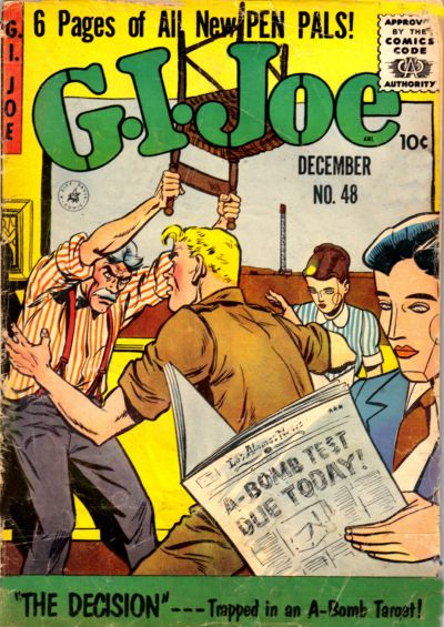 Cover for G.I. Joe (Ziff-Davis, 1951 series) #48