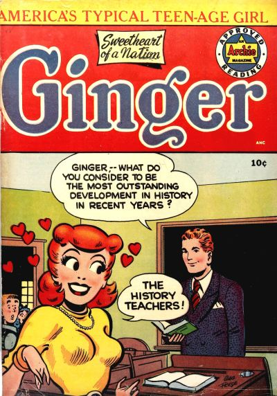 Cover for Ginger (Archie, 1951 series) #1
