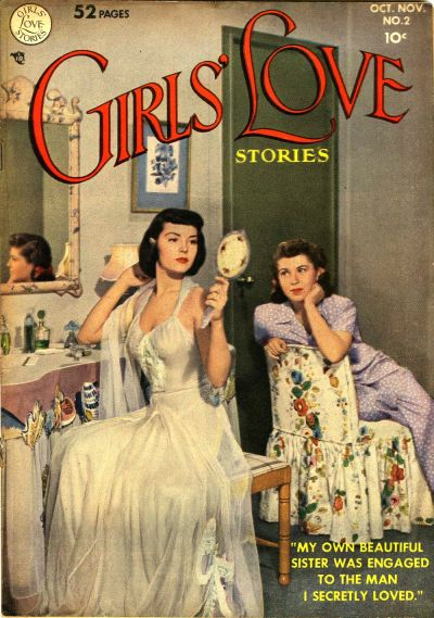 Cover for Girls' Love Stories (DC, 1949 series) #2