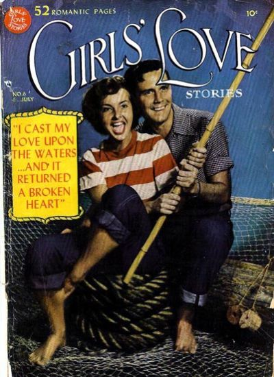 Cover for Girls' Love Stories (DC, 1949 series) #6