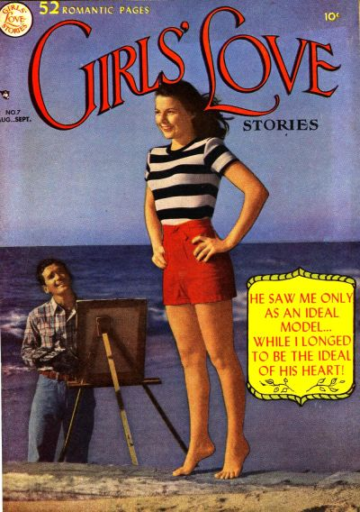 Cover for Girls' Love Stories (DC, 1949 series) #7