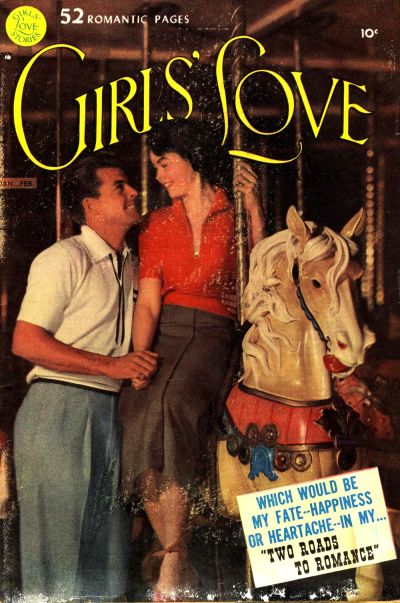 Cover for Girls' Love Stories (DC, 1949 series) #9