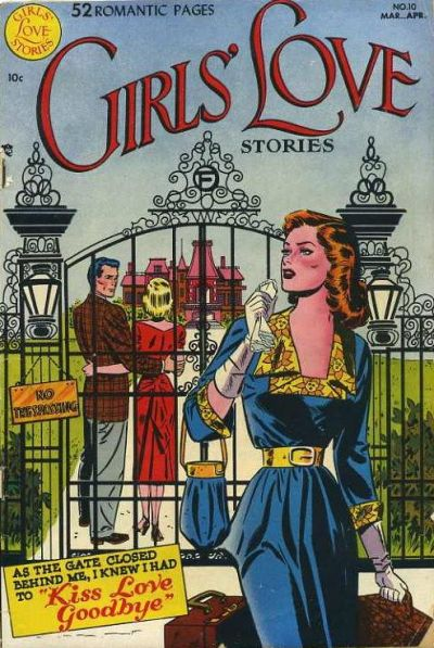 Cover for Girls' Love Stories (DC, 1949 series) #10