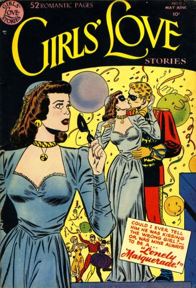 Cover for Girls' Love Stories (DC, 1949 series) #11