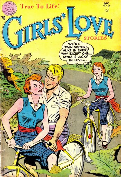 Cover for Girls' Love Stories (DC, 1949 series) #26