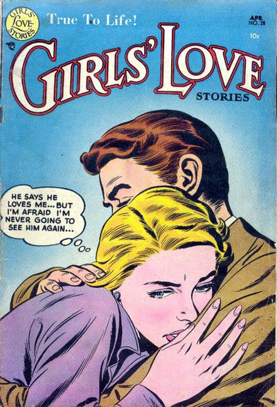 Cover for Girls' Love Stories (DC, 1949 series) #28