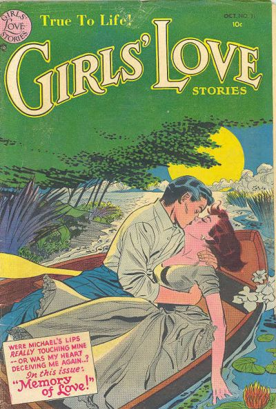 Cover for Girls' Love Stories (DC, 1949 series) #31