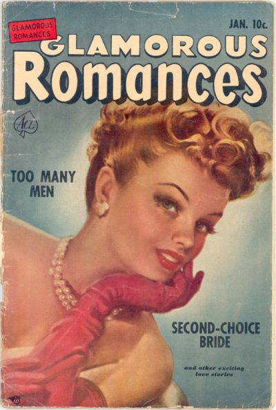 Cover for Glamorous Romances (Ace Magazines, 1949 series) #57