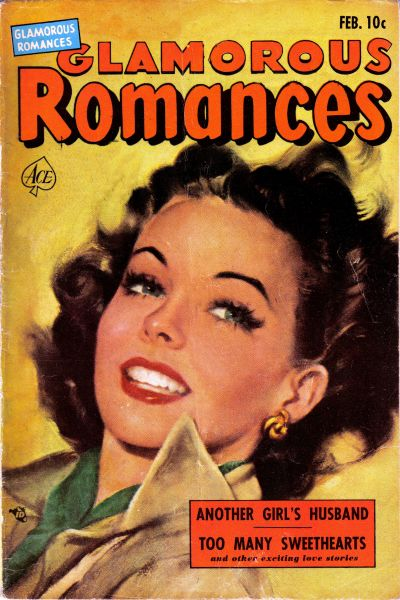 Cover for Glamorous Romances (Ace Magazines, 1949 series) #58