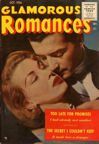 Cover for Glamorous Romances (Ace Magazines, 1949 series) #90