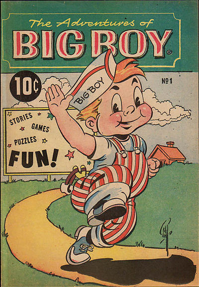 Cover for The Adventures of Big Boy (Marvel, 1956 series) #1 [East]
