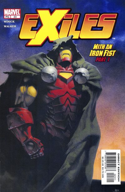 Cover for Exiles (Marvel, 2001 series) #23 [Direct Edition]